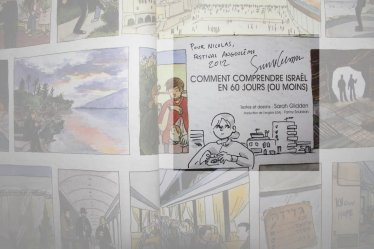 Sarah Glidden - Comment comprendre Israël en 10 jours - Angoulême 2012